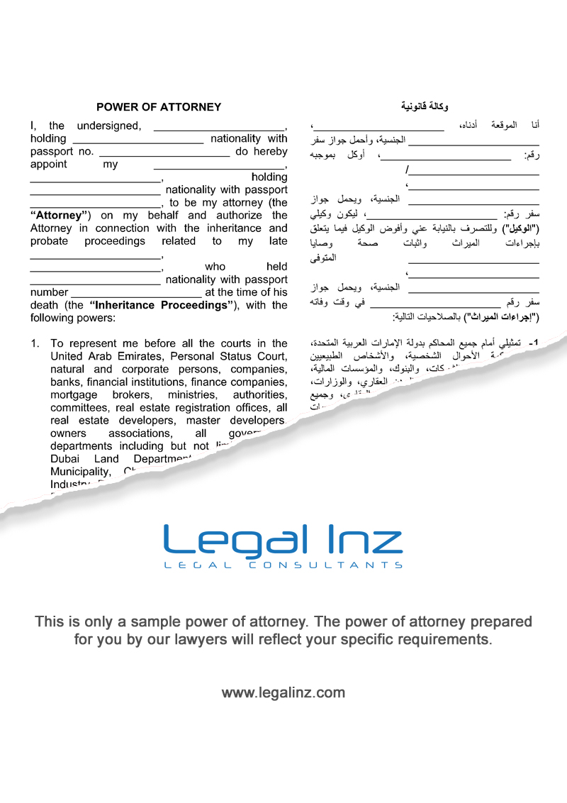 Template for power of attorney letter fieldstation template falaconquin